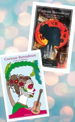 Offre spéciale Noël – 2 livres Curieuse Baroudeuse